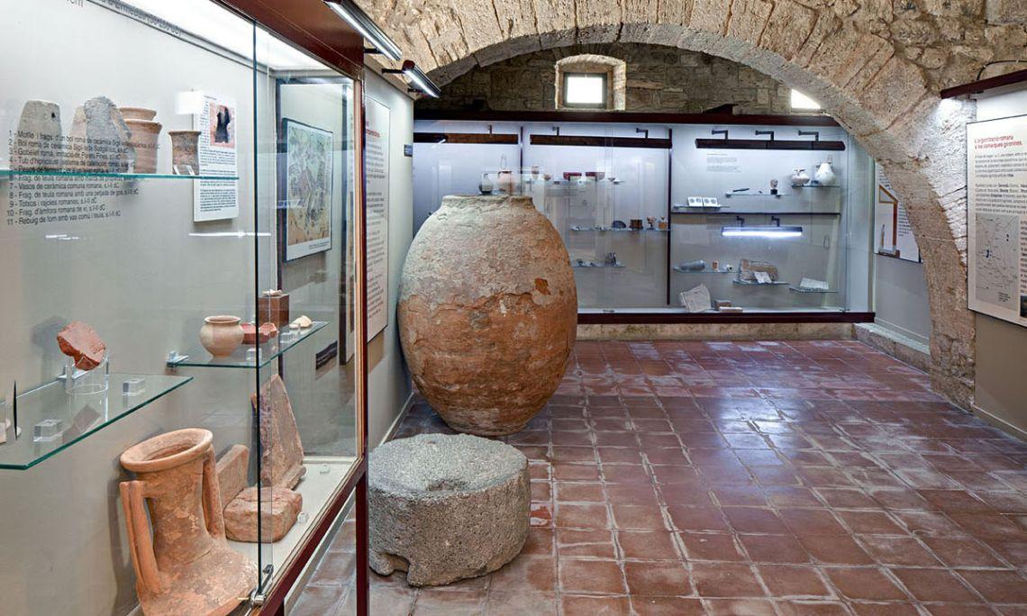 Salas de historia (Arqueoxarxa, Josep Casanova).