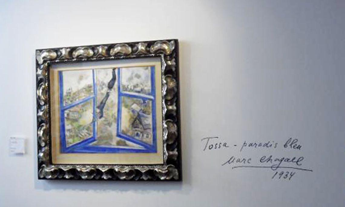 El violinista celest, 1934. Marc Chagall.