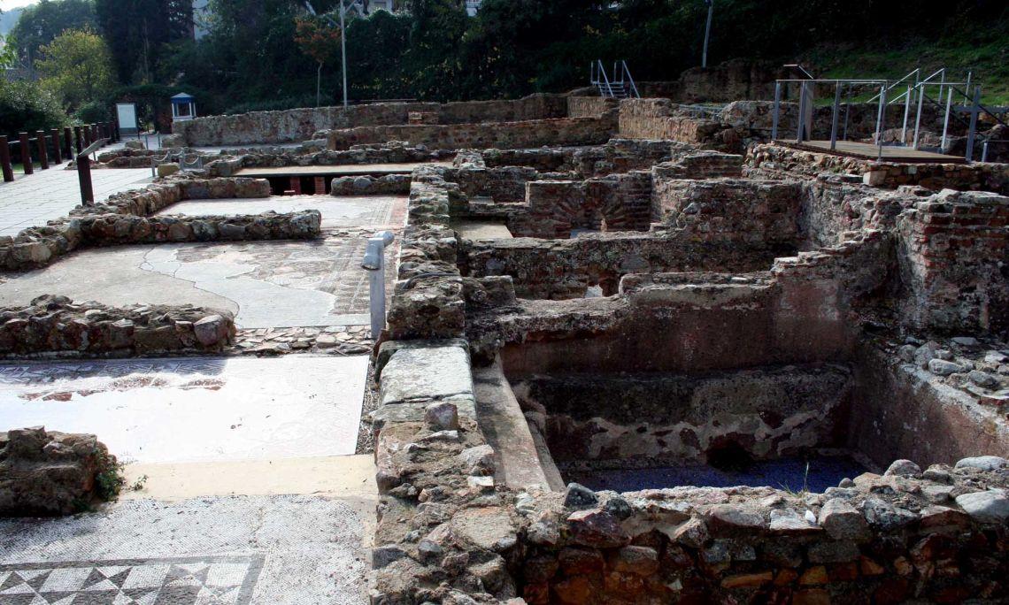 Vil·la Romana dels Ametllers (s. II aC - s. IV dC).