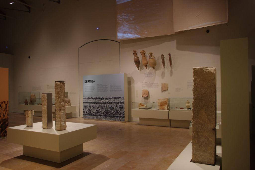 Dertosa, cap d'un extens municipium, s'amaga sota l'actual Tortosa.