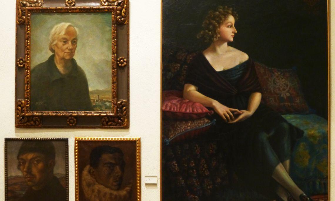 Josep Aragay, un dels pintors més discutits de l'època, es va mantenir fidel al projecte noucentista fins al final de la seva vida.