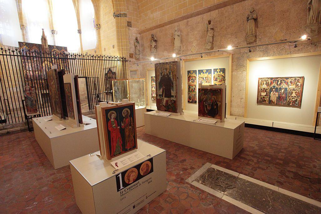 La sala II del museu ocupa l'antiga capella de Corpus Christi, construïda entre els segles XIII-XV.