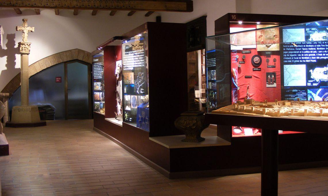 Vista general de l'àmbit la Conca medieval.