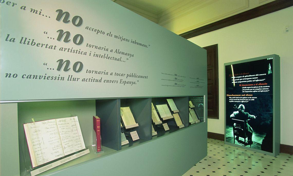 Espacio dedicado al exilio de Pau Casals en Prada de Conflent.