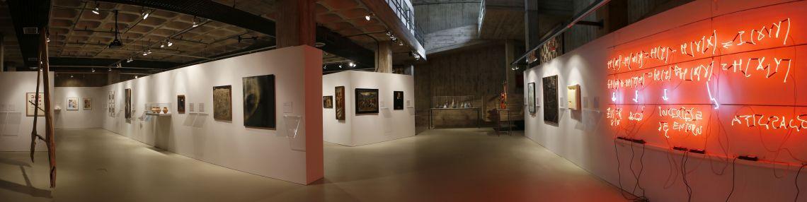 Exposició «Mirades i diàlegs». Foto Pere Cornellas, 2014