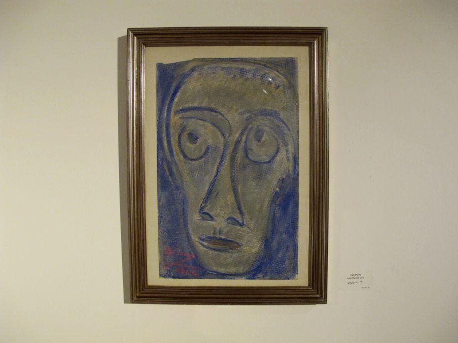 Vista de l'obra de Josep M. de Sucre a la sala corresponent a les primeres avantguardes