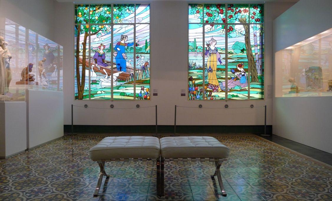 Vista parcial de la Sala Modernista. © Orlando Barrial