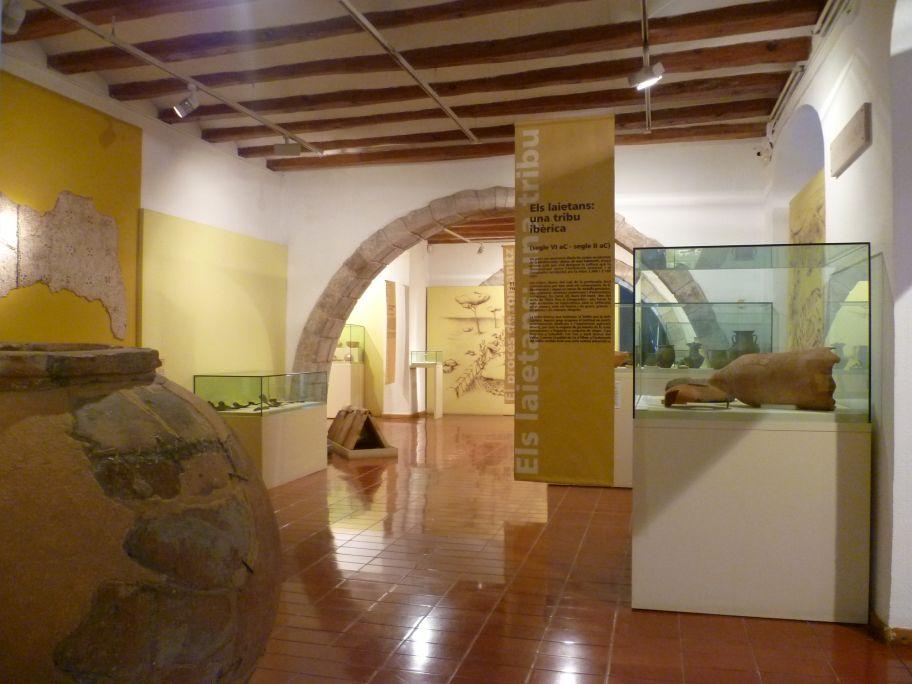 Vista general de la sala «Una mirada cap a la Mediterrània: els ibers i els romans» (Una mirada hacia el Mediterráneo: los íberos y los romanos)