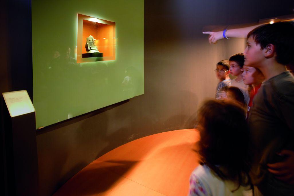 Sala 3 del Museu de Gavà, on s'exposa la Venus de Gavà