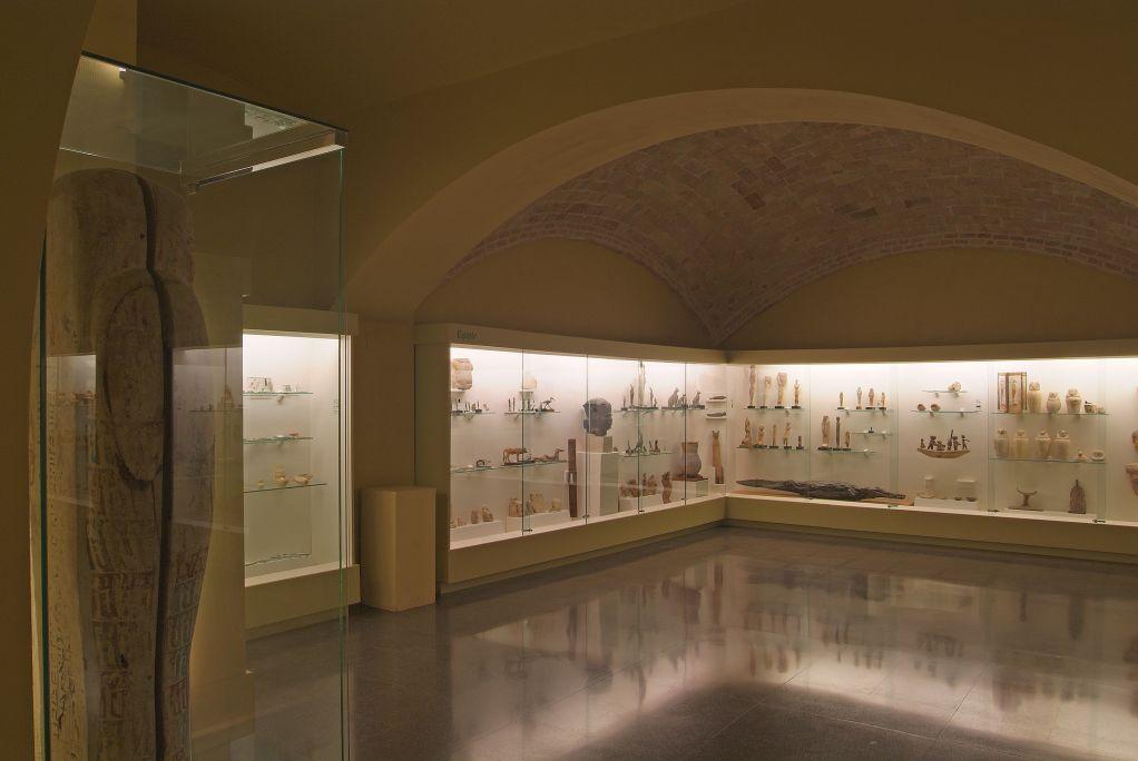 Sala d'arqueologia.