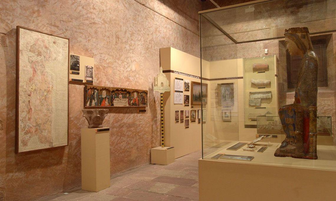 Salle de l'exposition permanente du monde médiéval. Photo: Musée de Terrassa