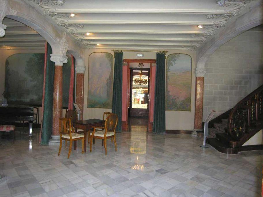 Saló de la Casa Alegre de Sagrera. Foto: Museu de Terrassa