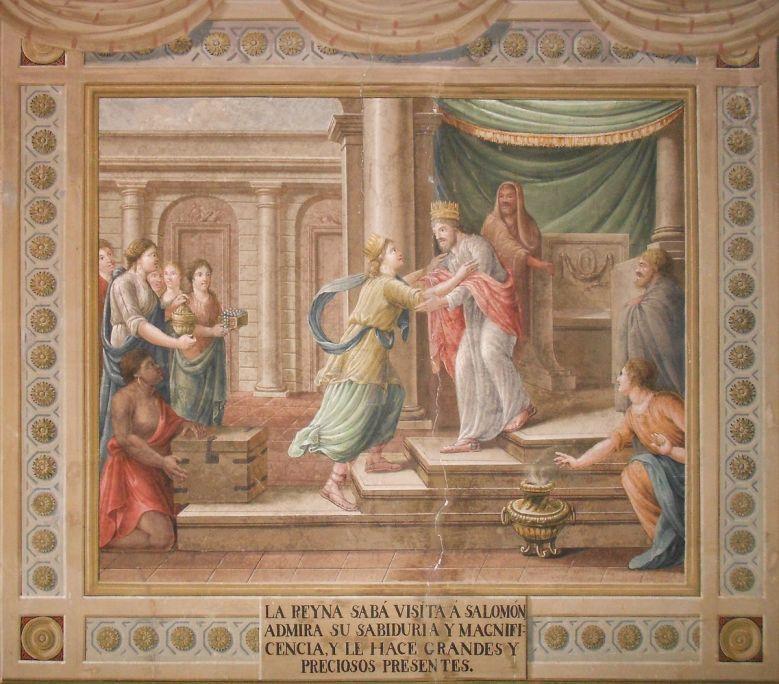 Pintura mural de la Sala del Judici de Salomó. Foto: Museu de Terrassa