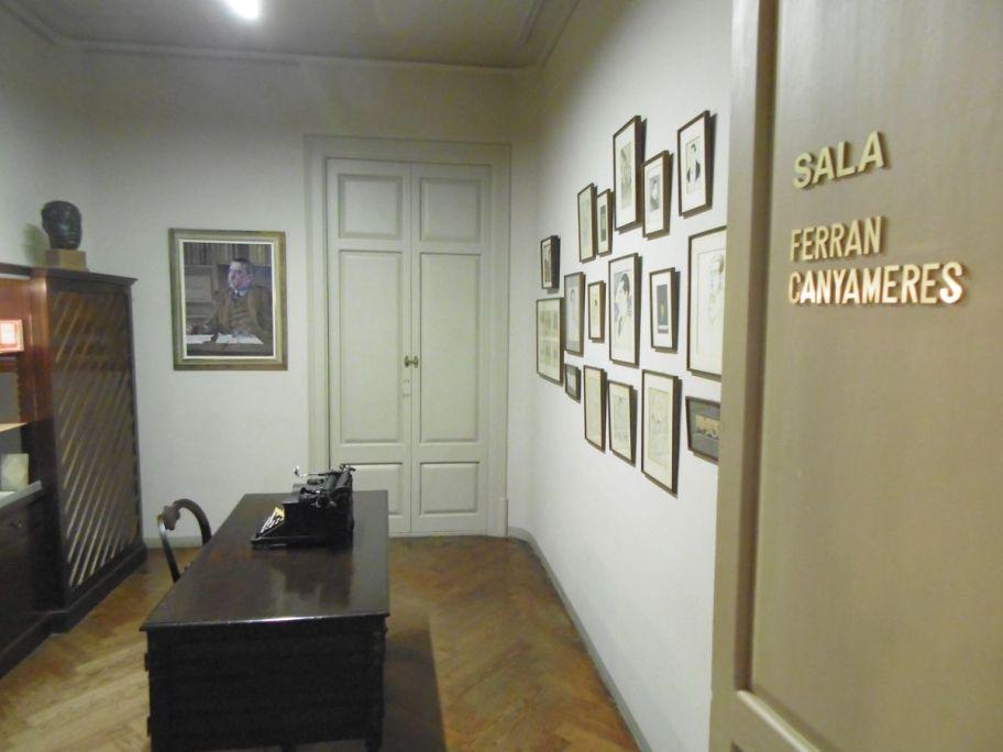 Sala Ferran Canyameres. Foto: Museu de Terrassa