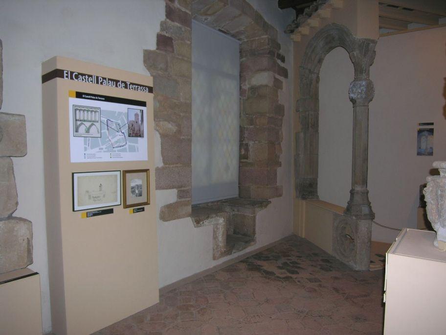 Elements del castell palau de Terrassa. Foto: Museu de Terrassa