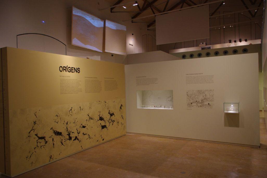 La prehistoria en el cursoo inferior del Ebro es una época de grandes cambios medioambientales y culturales.