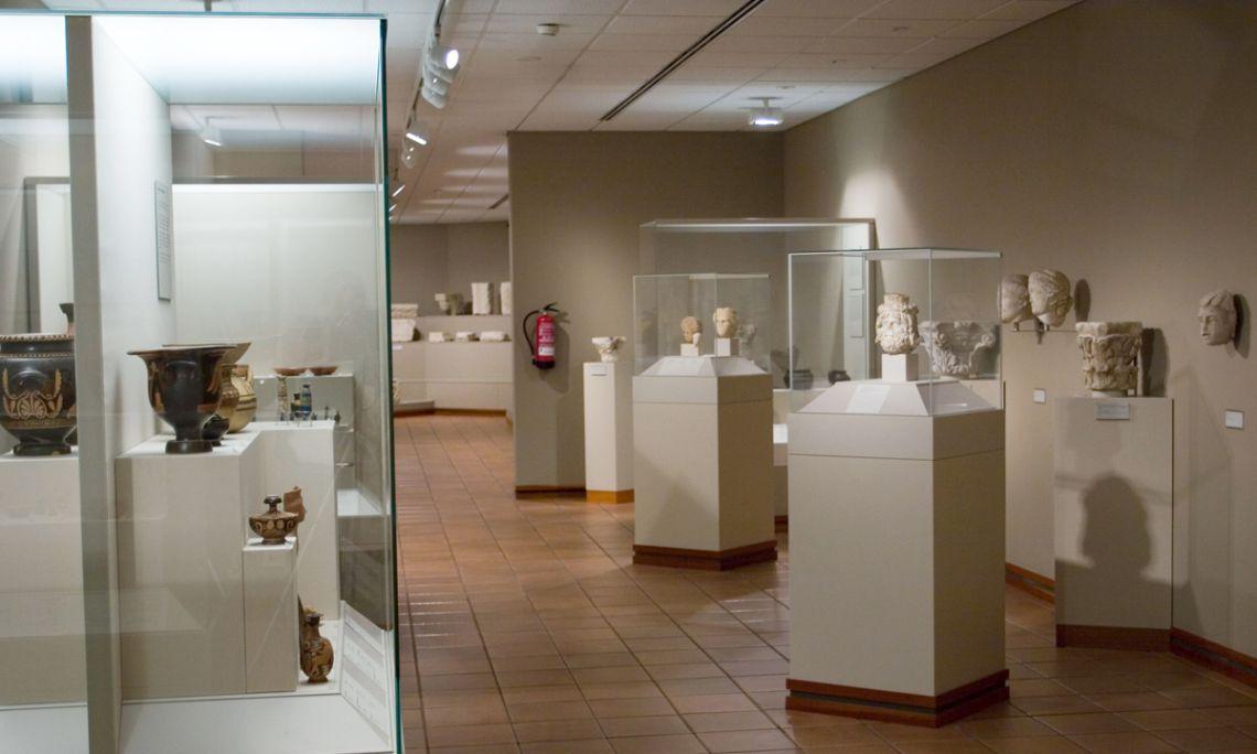 Sala d'Arqueologia del Museu Episcopal de Vic