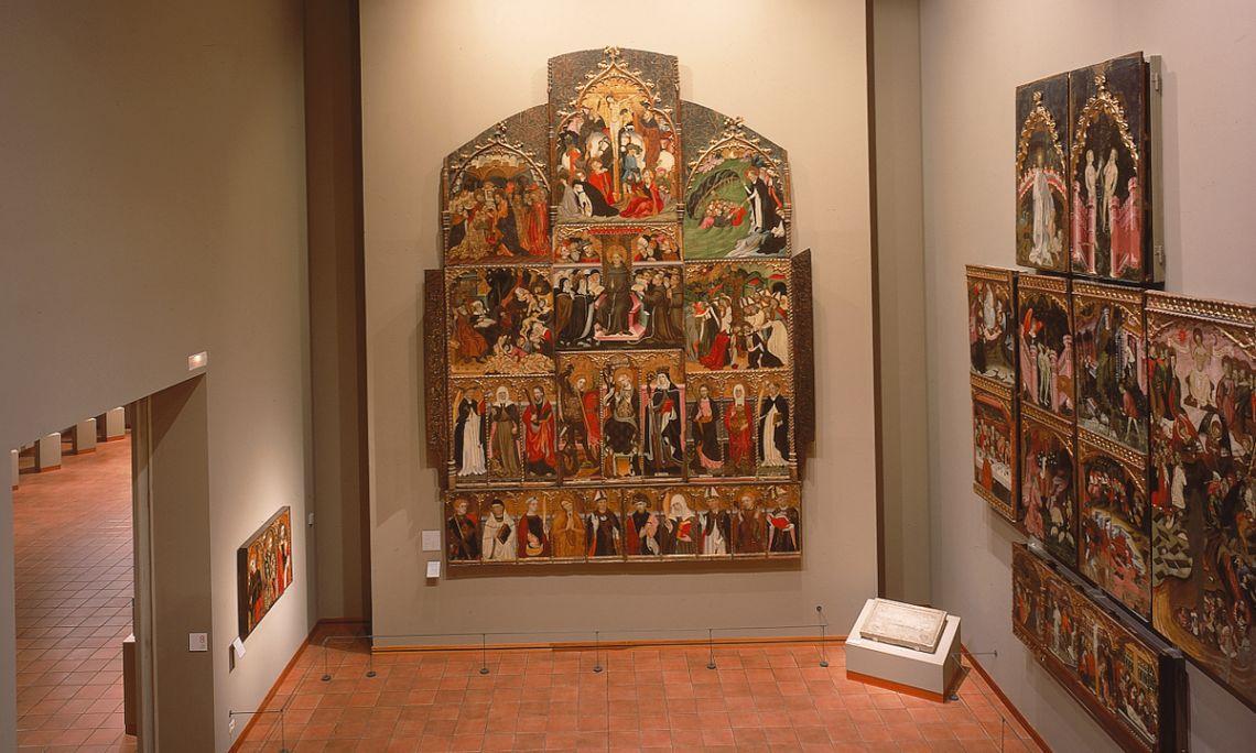 Patio gótico del Museo Episcopal de Vic