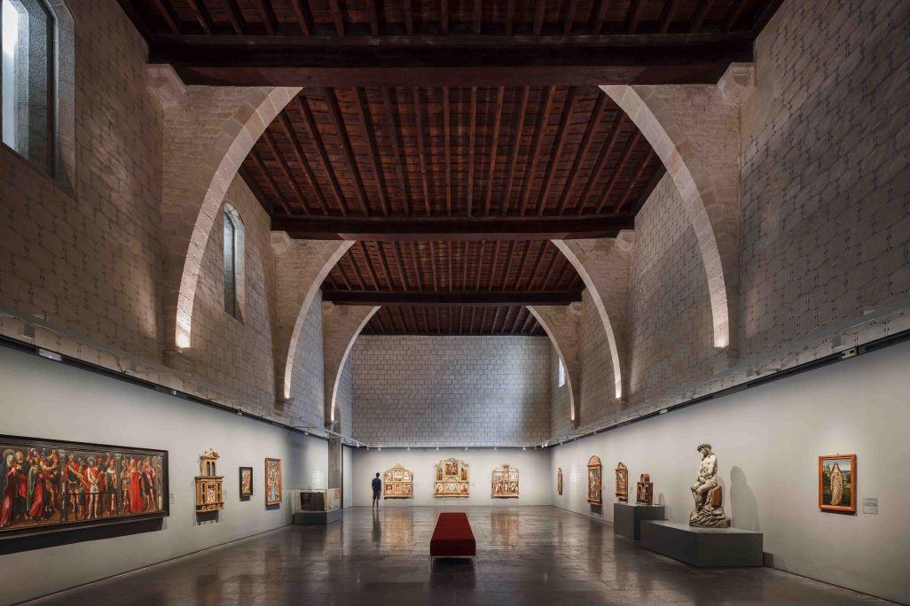 Dormidor i exposició «Els tresors del monestir»