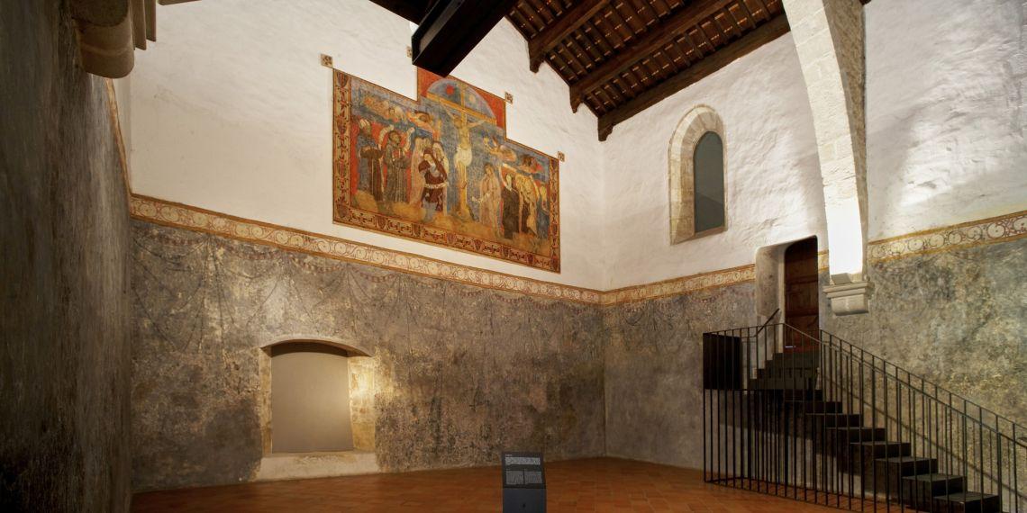 Abadia (figura 11) Sala capitular (figura 12)