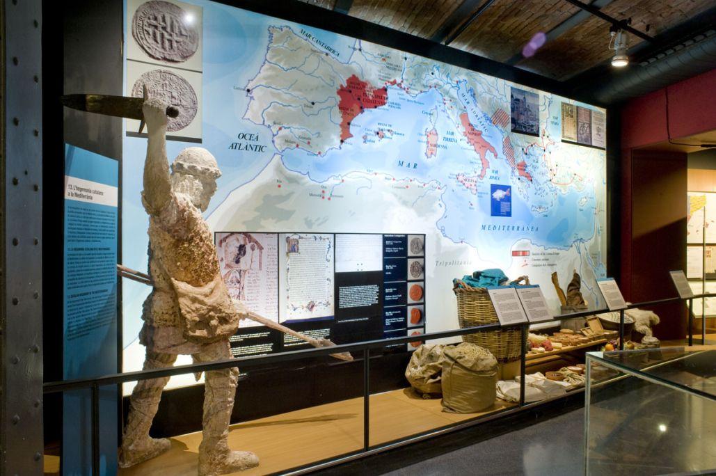 L'hegemonia catalana a la Mediterrània. © de la fotografia: Museu d'Història de Catalunya (Pep Parer)