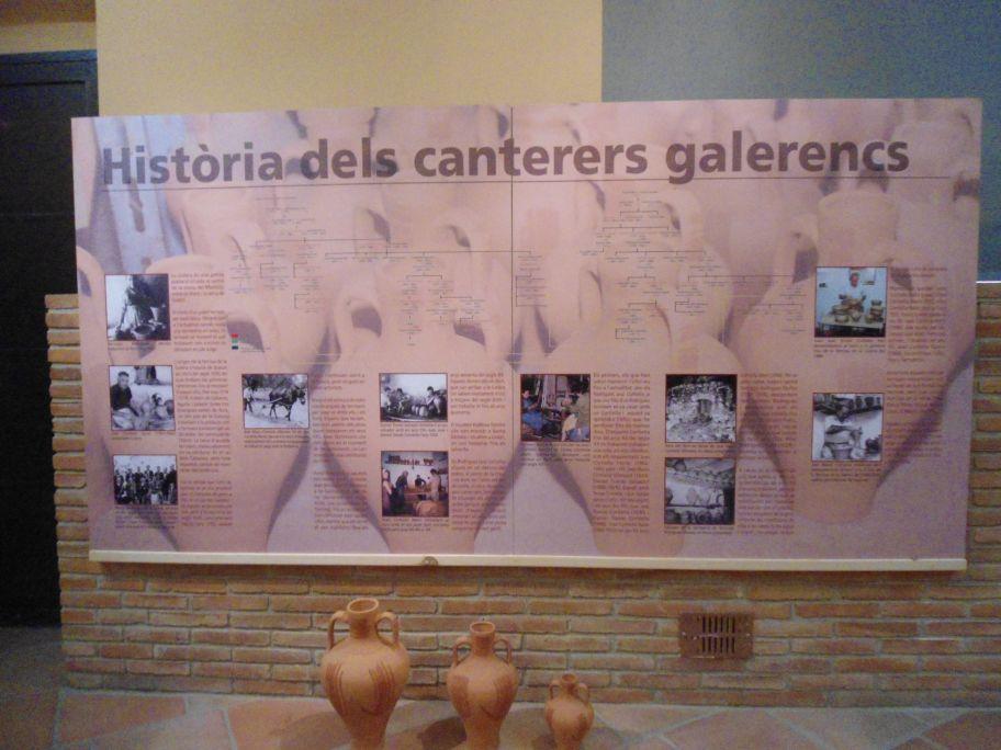 Arbre genealògic dels terrissers de la Galera amb les dues famílies principals: els Bort i els Rodríguez, avui Cortiella.