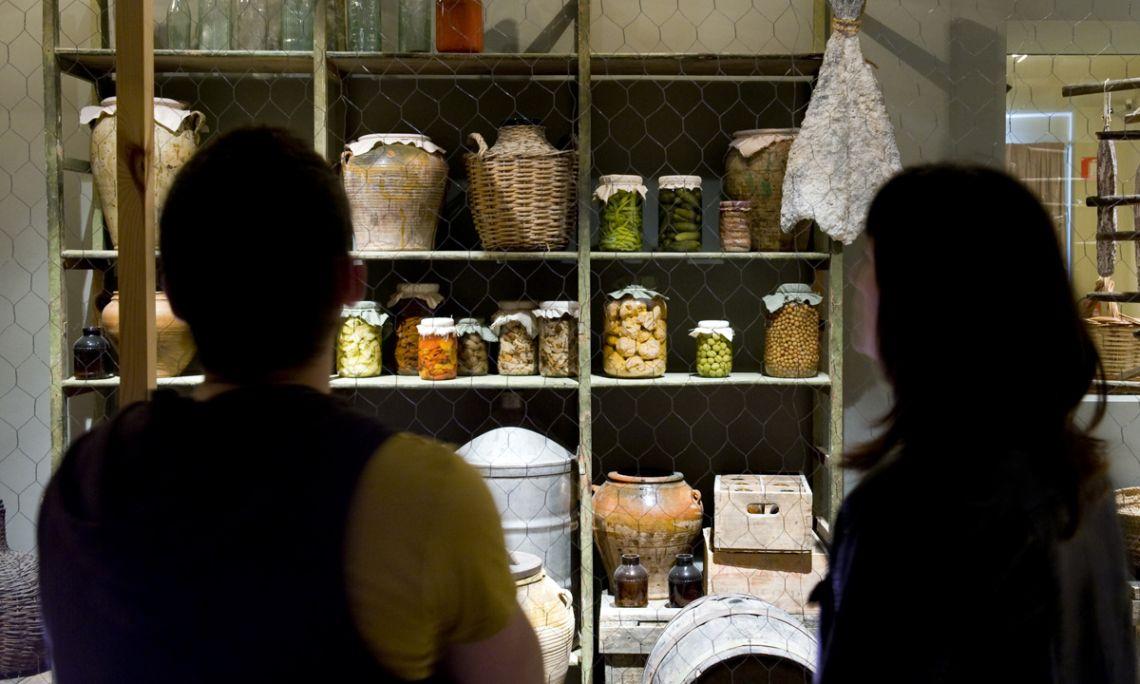 La quarta planta de l'edifici antic de l'MVR mostra els diferents mètodes de conservació tradicionals.