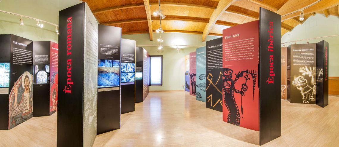 Exposició «Montmeló, camins i anys», àmbit d'època ibèrica