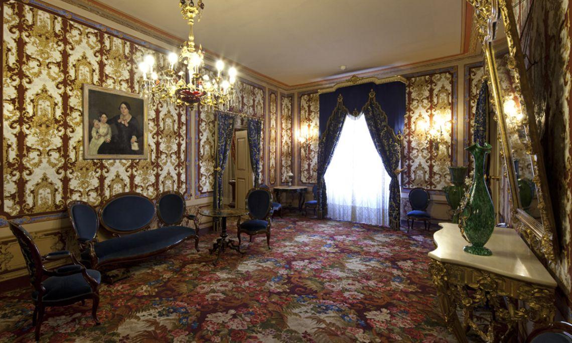 Salons de la casa Turull, primer pis
