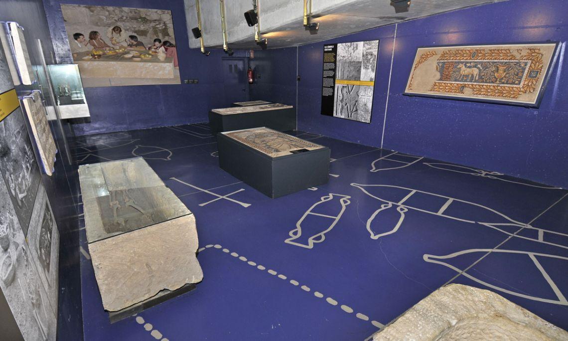 «The world of death»interpretation centre
