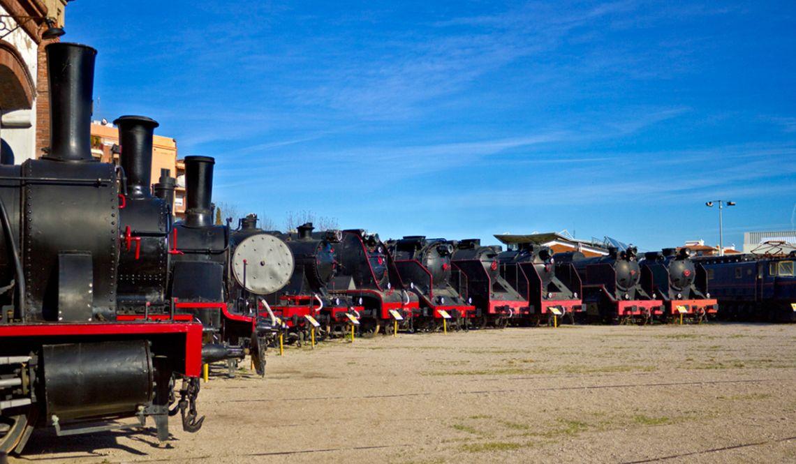 Col·lecció de locomotores de vapor