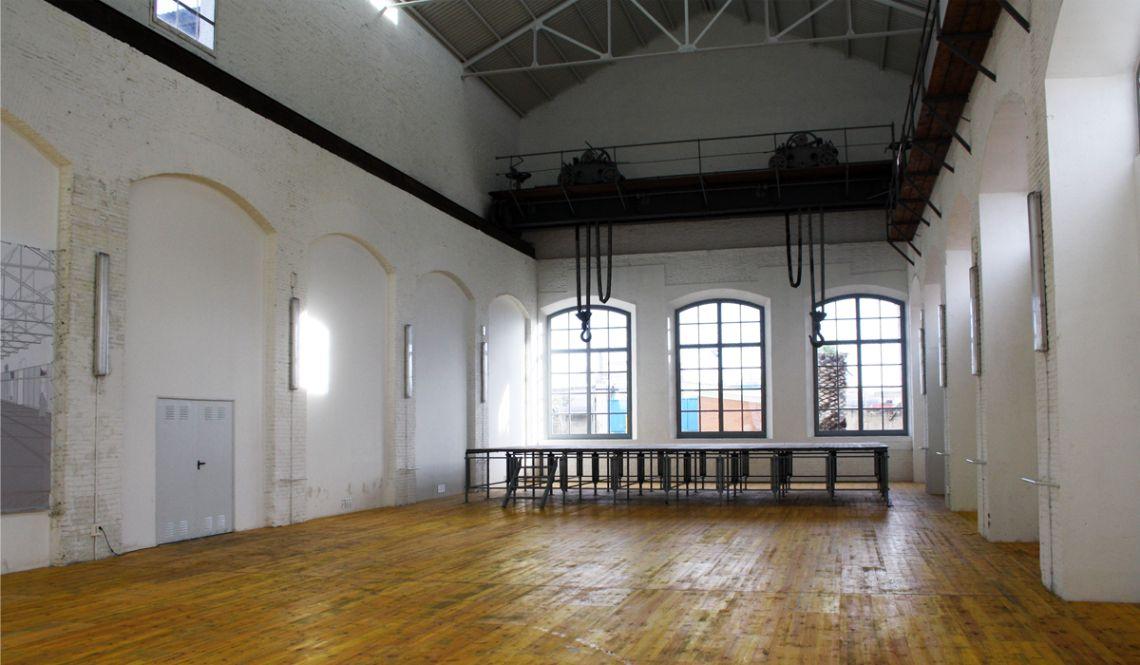 Intérieur de l'Entrepôt une fois restauré