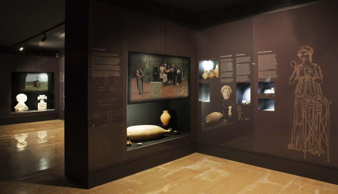 Roman burial practices in the Ebre region.