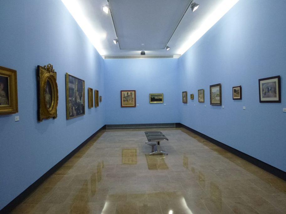 Visite générale de la salle de peintres du XIXe siècle.