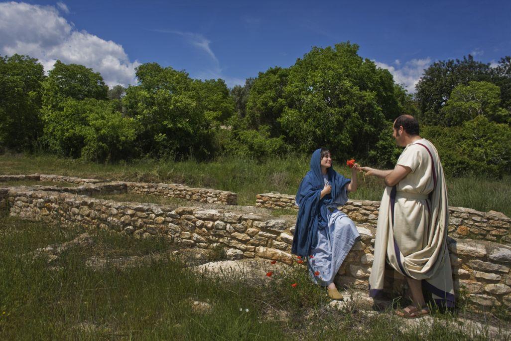 Aquesta explotació agropecuària romana va ser localitzada als anys seixanta.