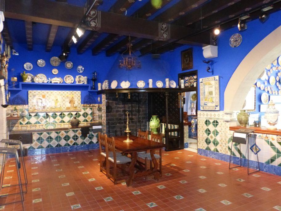 Dining room of Cau Ferrat