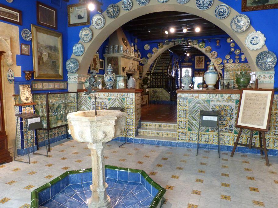 Sala Brollador del Museu del Cau Ferrat