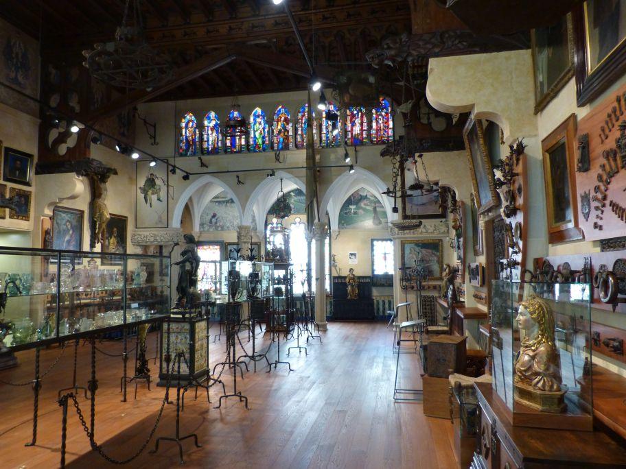 The Great Hall of the Cau Ferrat Museum