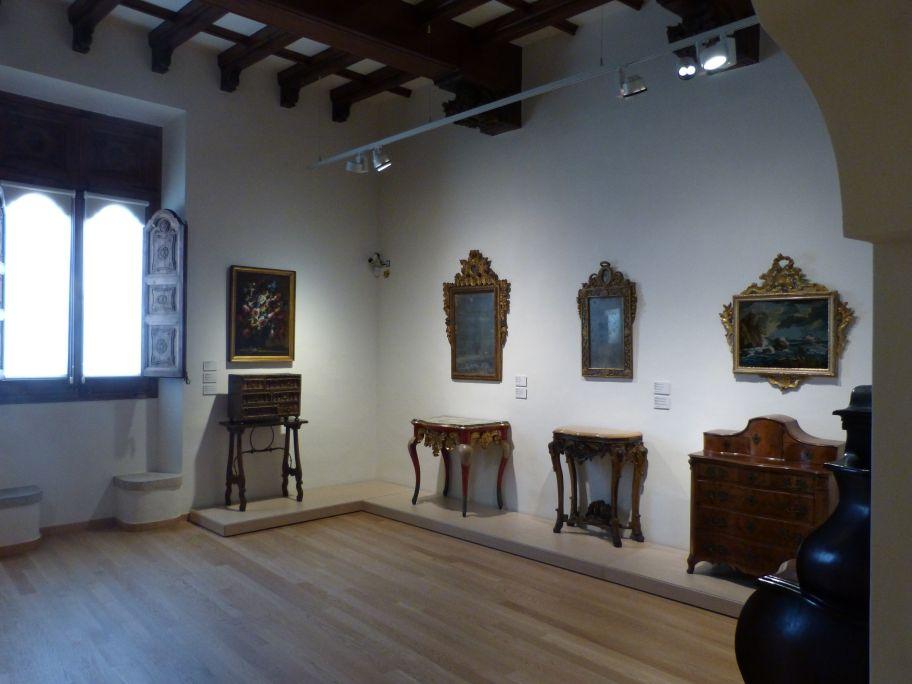 First floor of the Maricel Museum