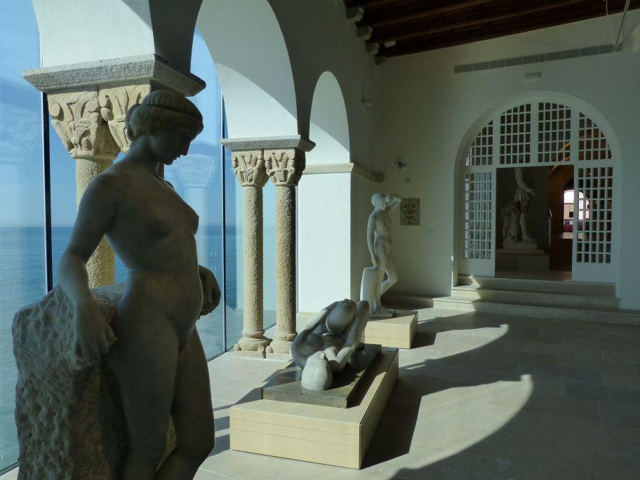 Ground floor of the Maricel Museum.