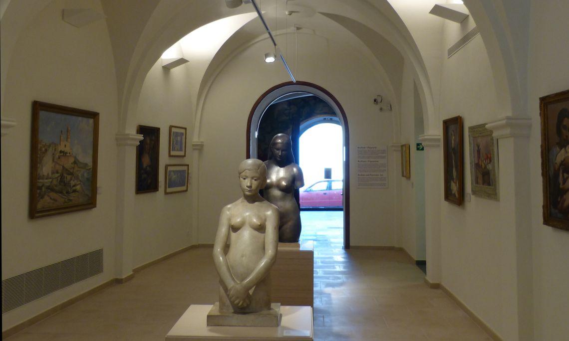 Planta baixa del Museu de Maricel
