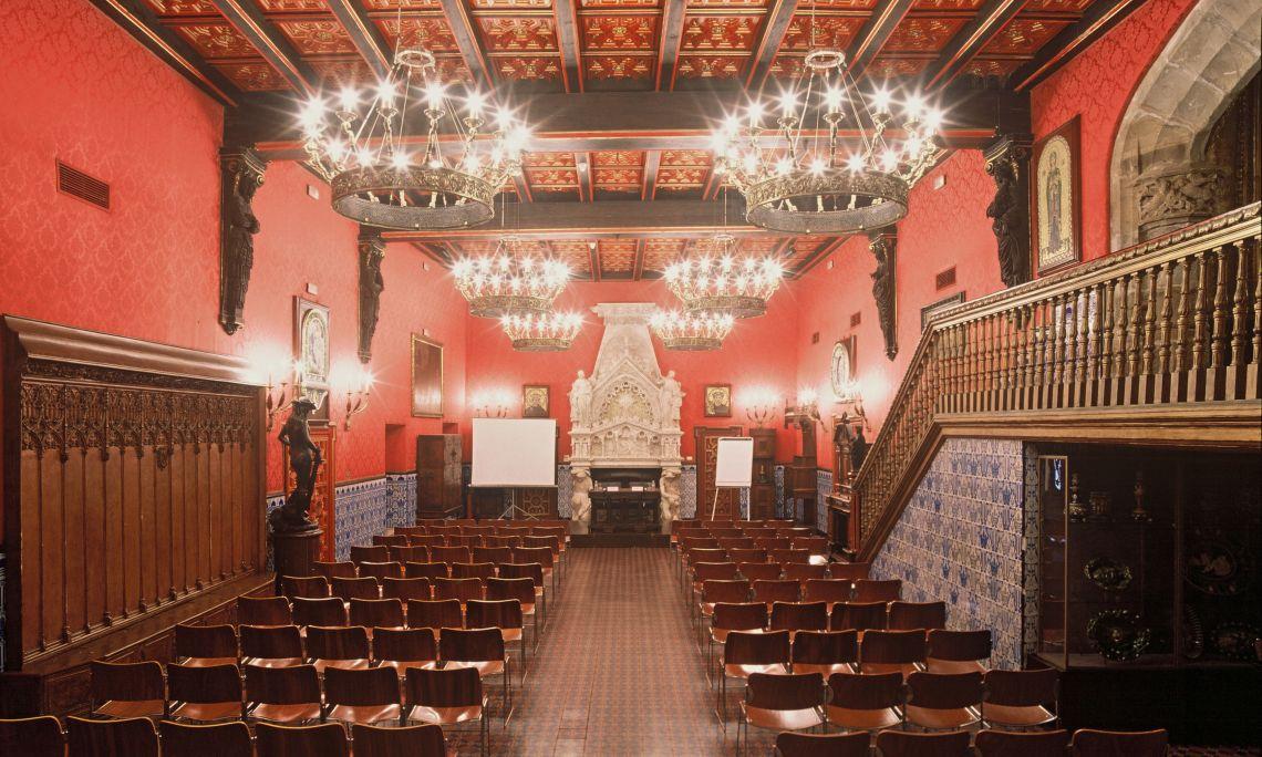 El Saló d'Or del Palau de Maricel