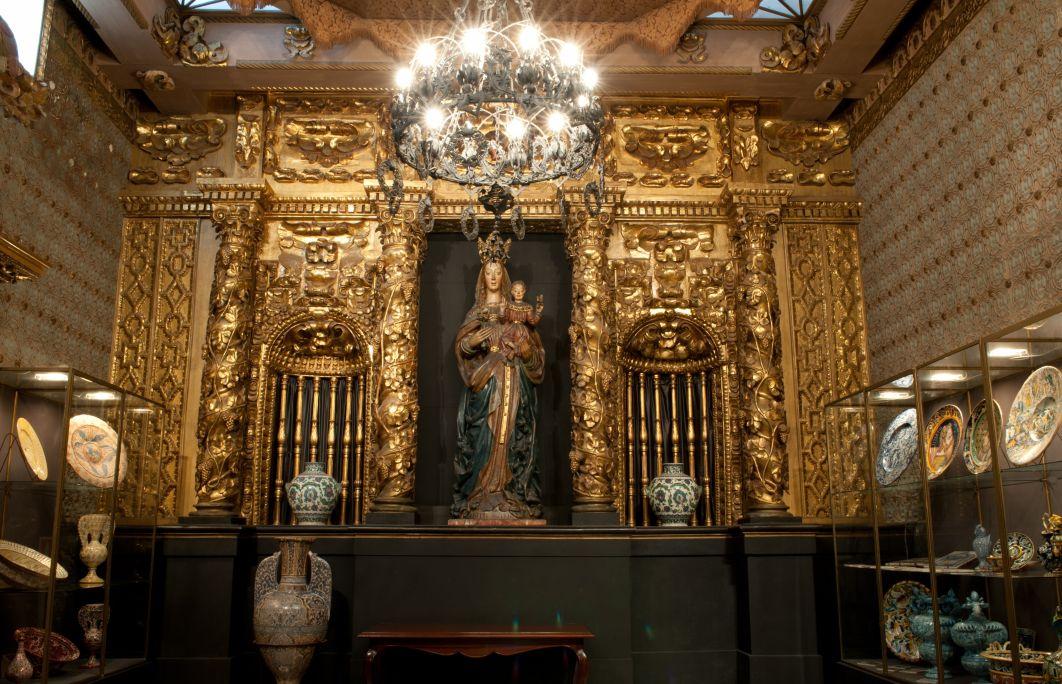 La Sala Capilla del Palacio de Maricel