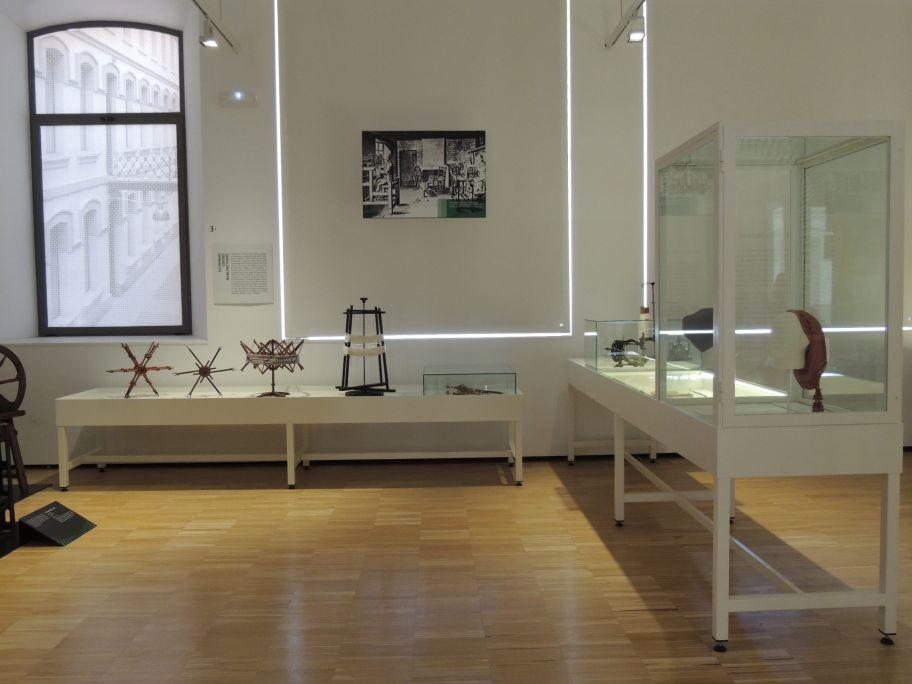 Vue sur l'espace dédié aux ateliers artisanaux vers la première moitié du XIXe siècle © Musée de Mataró
