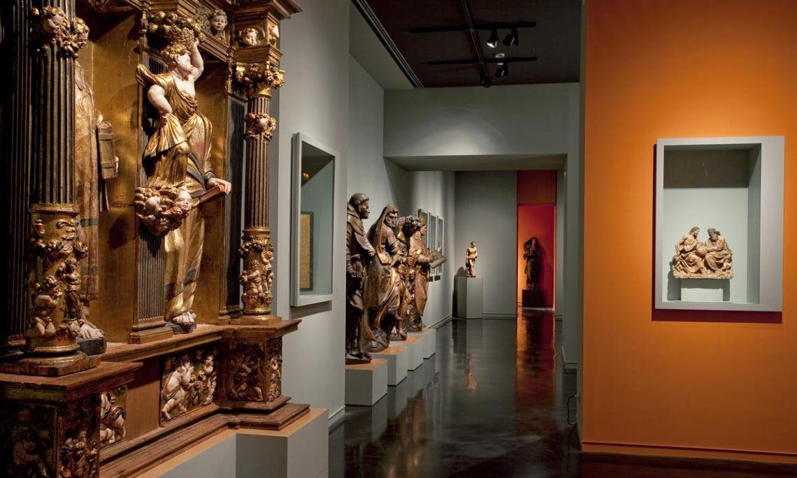 Renaixement. Sala 22. ©Museu Frederic Marès. Foto: Guillem F-H