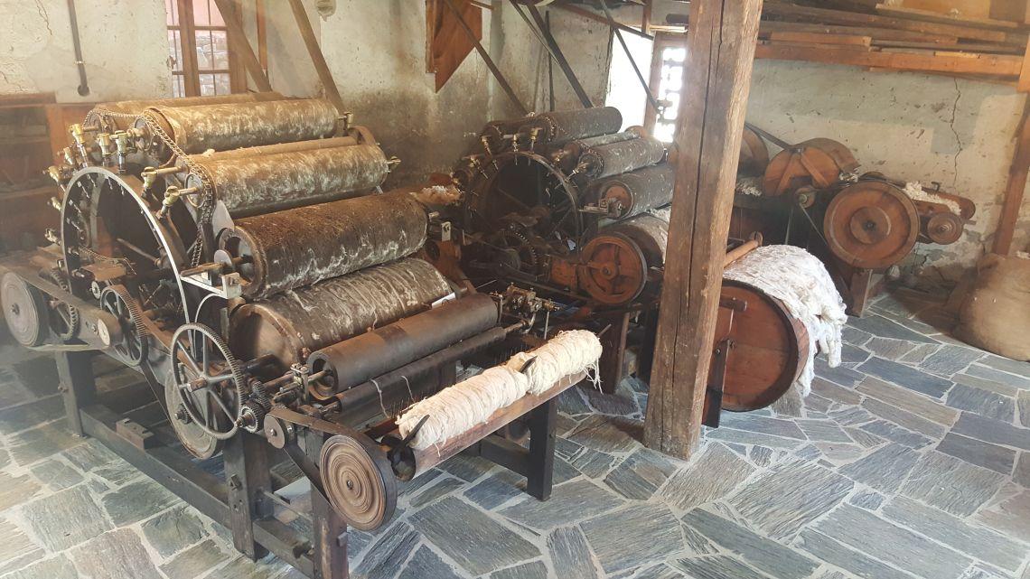 El petit taller de manyeria, situat en aquesta planta, permetia reparar la maquinària de la fàbrica.