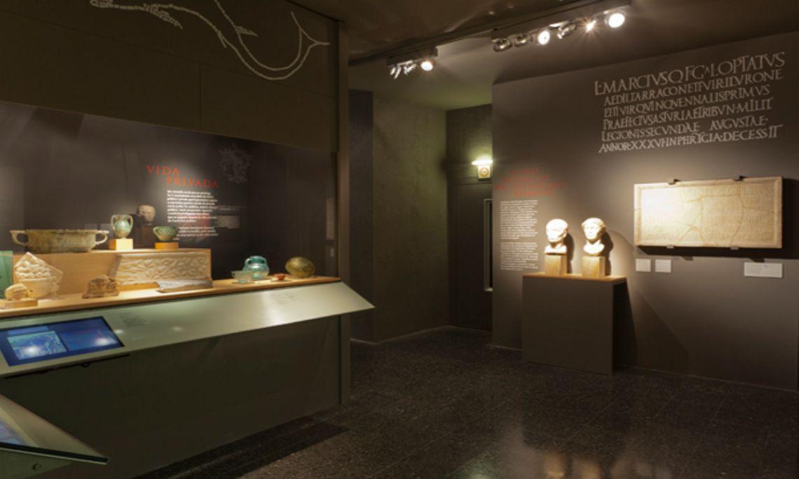 Iluro, Roman city Mataró Museum. Photo: Eusebi Escarpenter