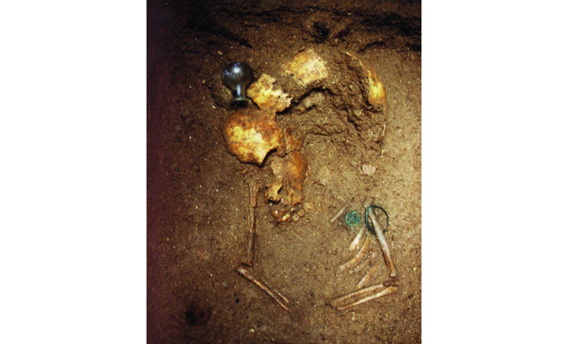 Le tombeau d'un adolescent. Photo: Musée de Mataró