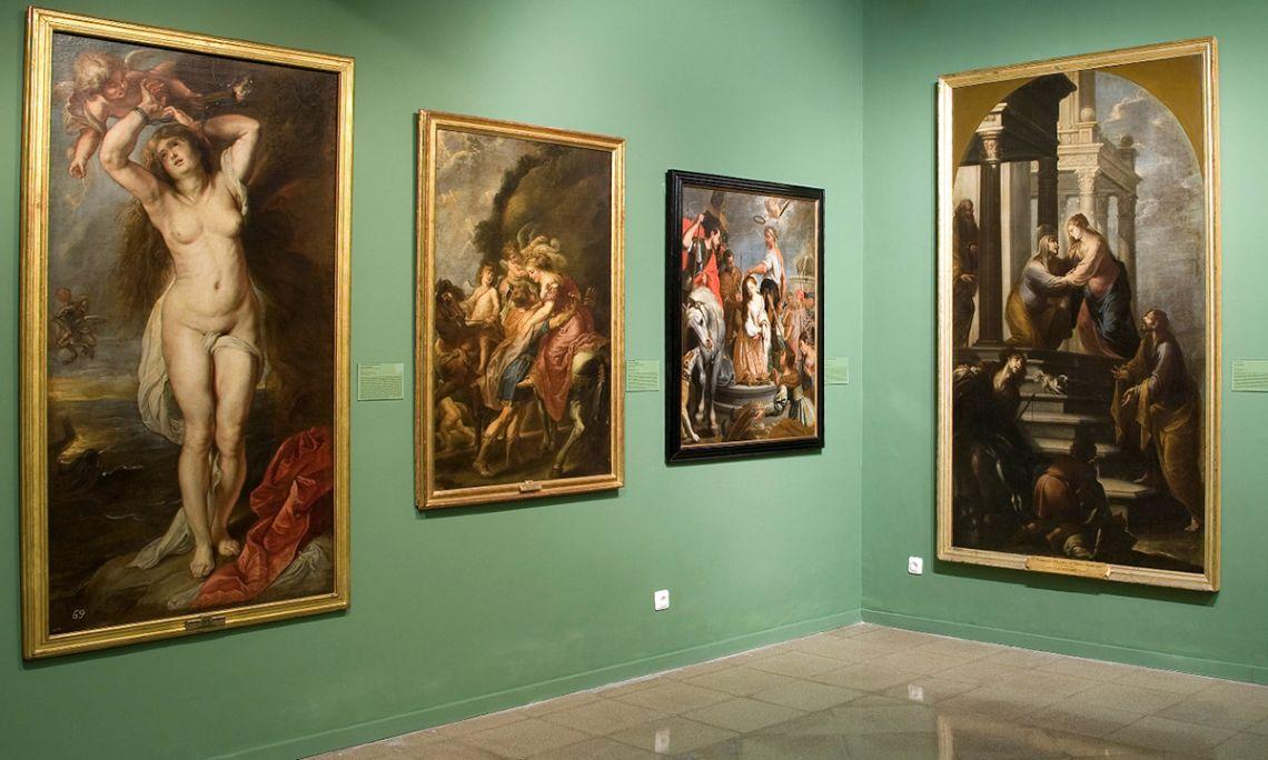 El dipòsit d'obres provinents del Prado es remunta als primers anys d'obertura del museu.