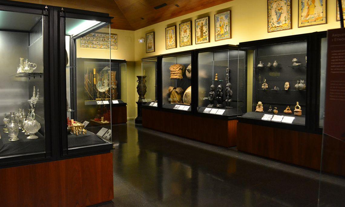 La Sala Silvela acull la col·lecció oriental, precolombina i filipina, entre d'altres.